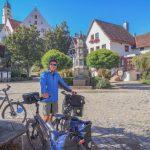 Radreise Tag 2 : von Bad Grönenbach nach Langenau – Bahnradwege sind toll