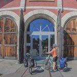 Radreise Tag 3 : von Langenau Richtung Ellwangen – mit Werkstattbesuch