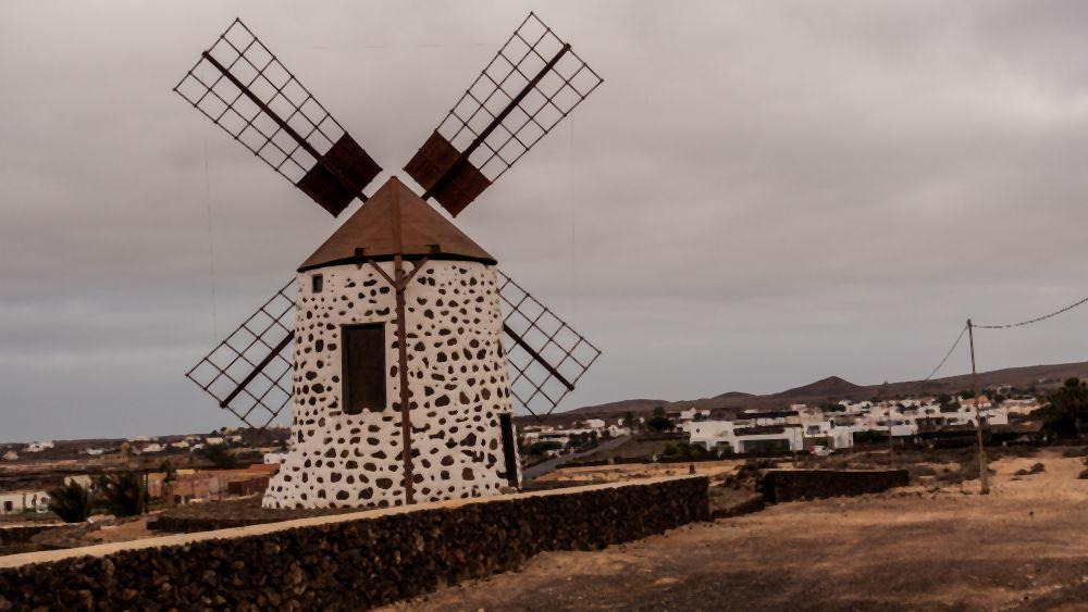 Molino de Viento in La Oliva