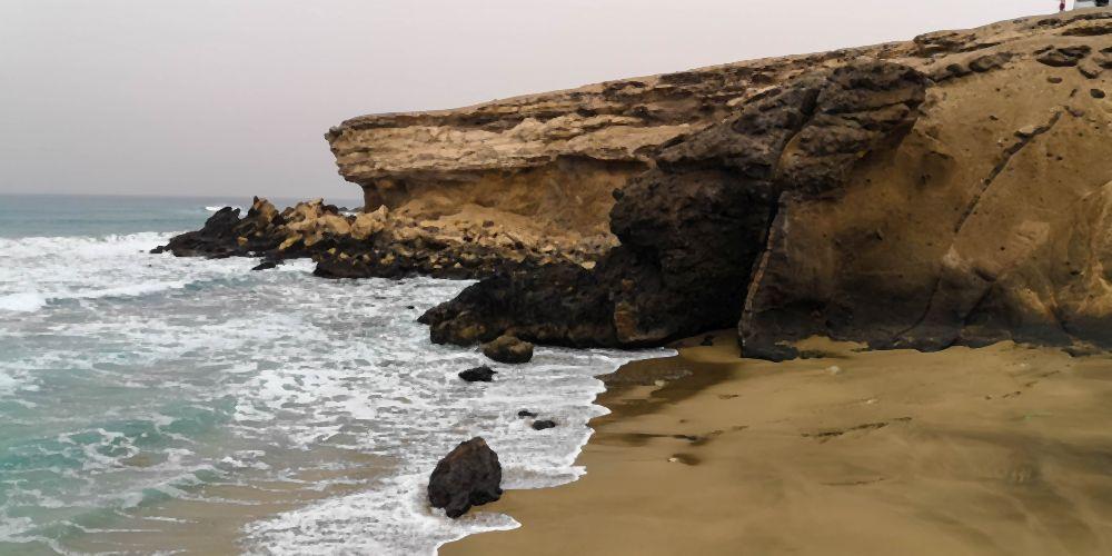 Küste bei La Pared